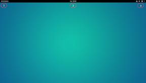 Primeros pasos con GNOME Shell. Hacia la productividad. Inicio.