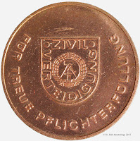 279a Medaille für treue Pflichterfüllung in der Zivilverteidigung der Deutschen Demokratischen Republik in Bronze www.ddrmedailles.nl