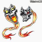 mask - tattoos ideas