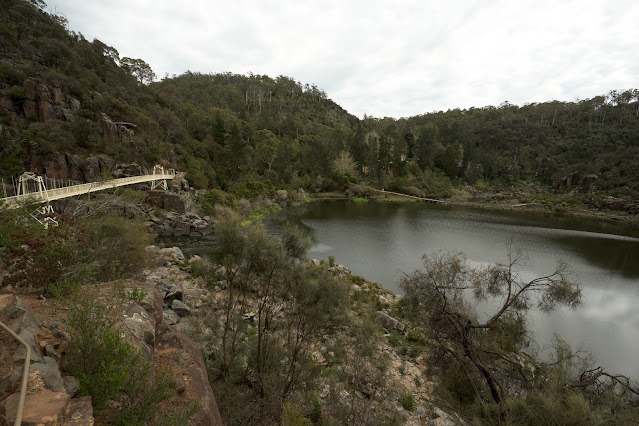 The bridge at Cataract Gorge