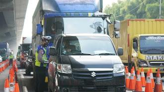 Sanksi Putar Balik Kendaraan Pemudik Diperpanjang Hingga 24 Mei 2021