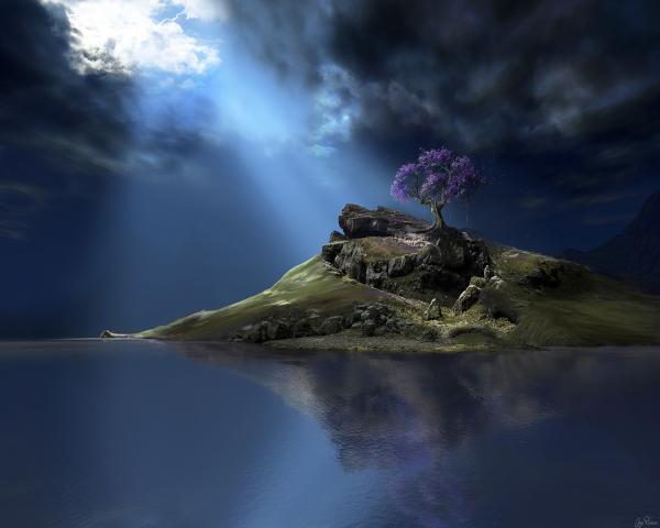 Island Of Loneliness, Magical Landscapes 1