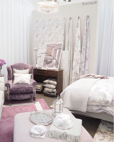 Laura Ashley Press Day Aw The Dainty Dress Diaries - Laura ashley living room purple