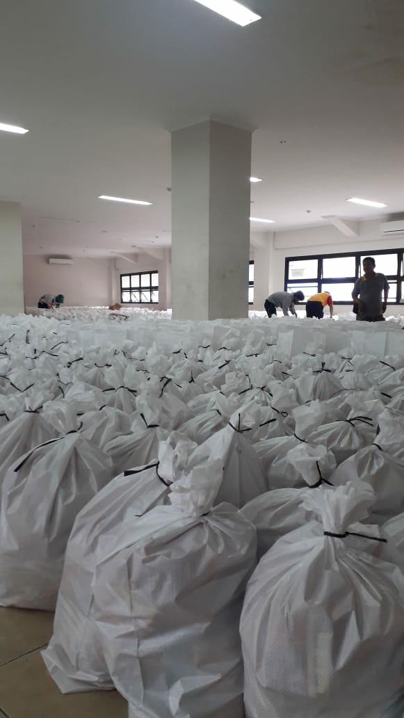 Sebanyak 75.000 Paket Sembako Bansos Kota Bekasi Siap Disalurkan