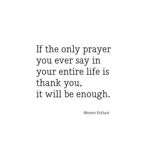 thank you -- eckhart