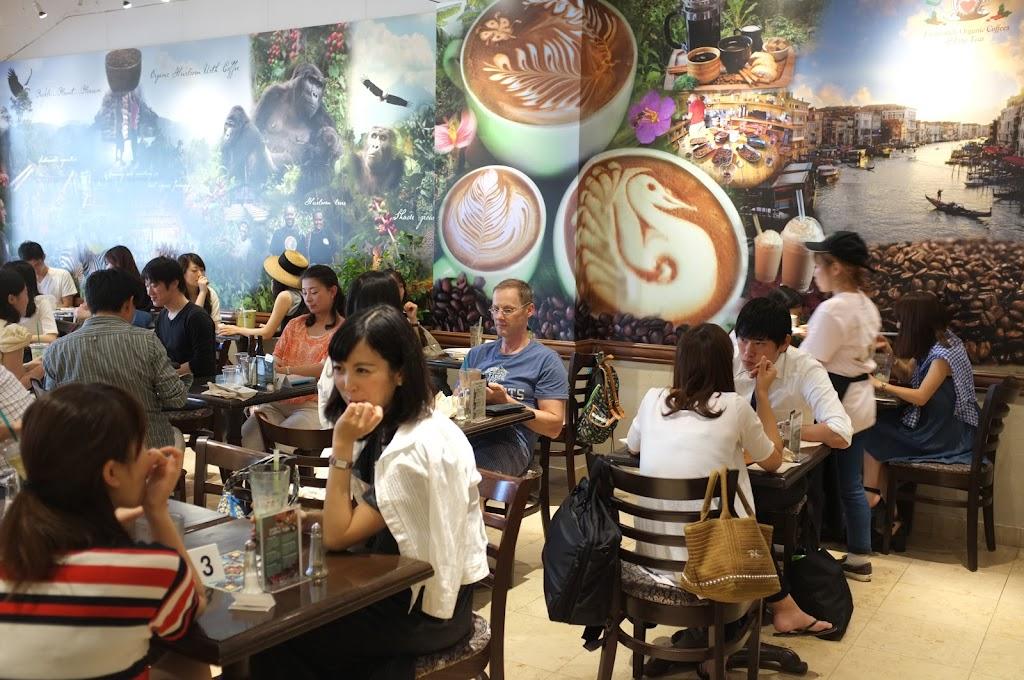 for brunch in Tokyo go to Urth Caffé in Daikanyama
