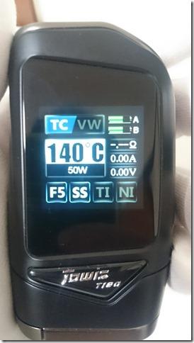 DSC 0268 thumb%255B1%255D - 【MOD】「Hcigar Towis T180タッチ液晶BOX MOD レビュー【MOD/VAPE/テクニカル】