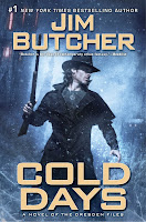 Book Review: Cold Days (Dresden Files Series, Book #14), By Jim Butcher Cover Artwork