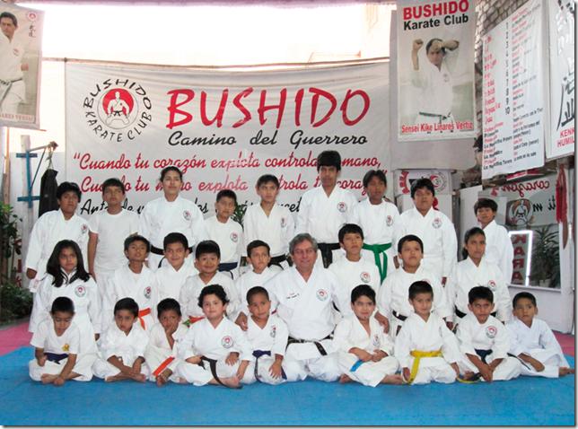Academia de karate BUSHIDO