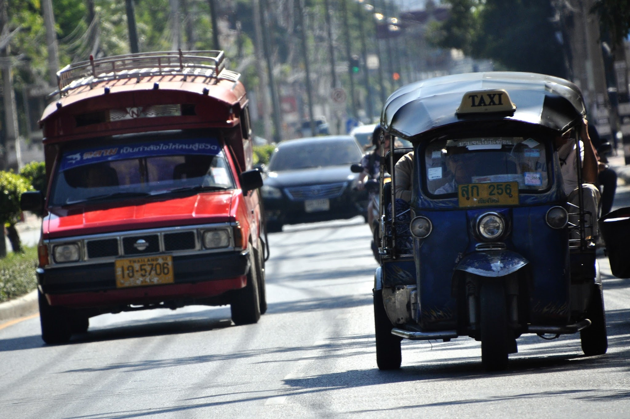 Taxi-songtaew-déplacer-chiang-mai