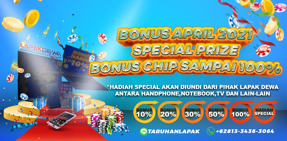 GIVEAWAY CHIP LAPAKDEWA April 2021