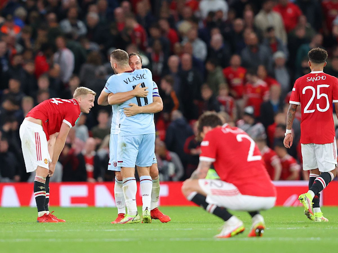 Manchester United Crash Out Of Carabao Cup Following West Ham Defeat