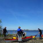 059-Na nen gezellige babbel en wat eten trekken we verder naar het Groote Gaastmeer.