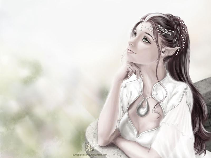 Elf Girl Clear, Elven Girls