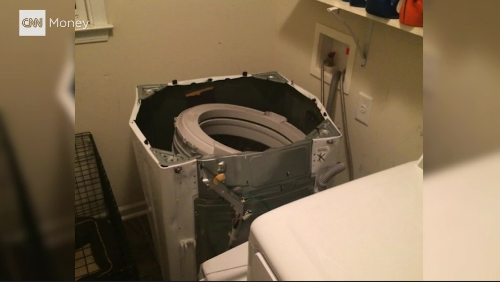 Samsung's Nightmares Continues As It's Washing Machines Start Exploding 1