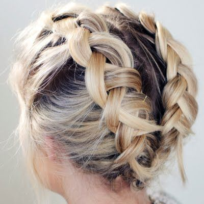 Braid for Short Hair :Style French Style Newest Ideas 2017 13