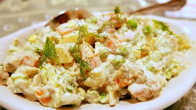 DaNet Zakuski of Salad Olivier