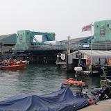 26-Apr 2011 - The ILB takes the tender under the lifting bridge