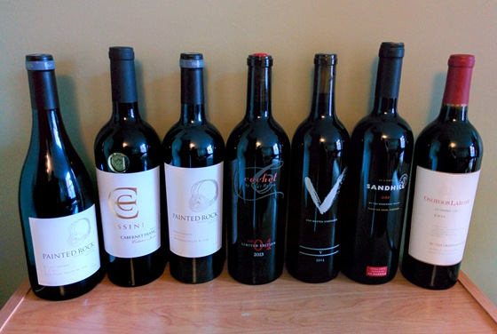 December 2015 BC wine collectibles