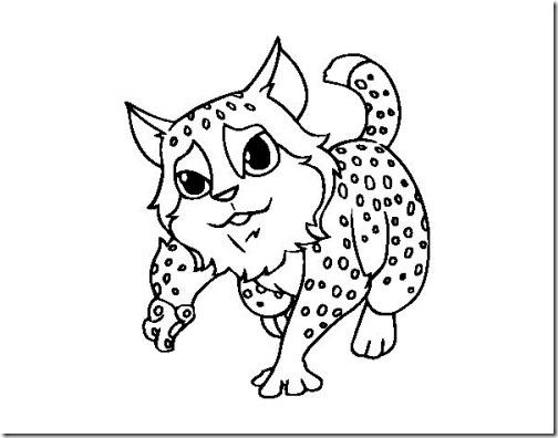 gato a colorear pintaryjugar  (16)