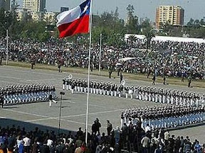 Video Desfile parada militar chile 2011