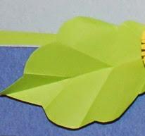 вырезаем декоративные листья