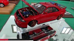 1:43 Nissa R33 VSpec in red