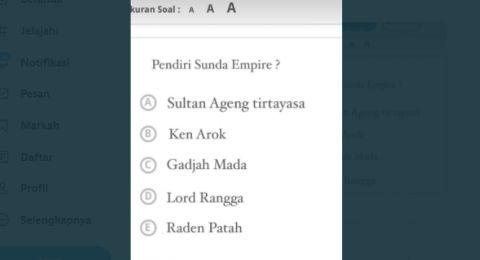 Viral, Pendiri Sunda Empire Masuk dalam Daftar Soal Ujian Sekolah