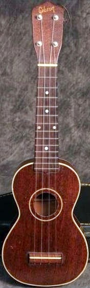 Late Gibson Soprano at Lardy's Ukulele Database