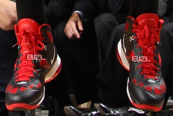 Nike LeBron 8 PS Game 5 8220Welcome to NBA Finals8221 Miami Heat PE