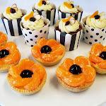 Gluten Free Carrot Cakes & Glazed Fruit Tarts.jpg