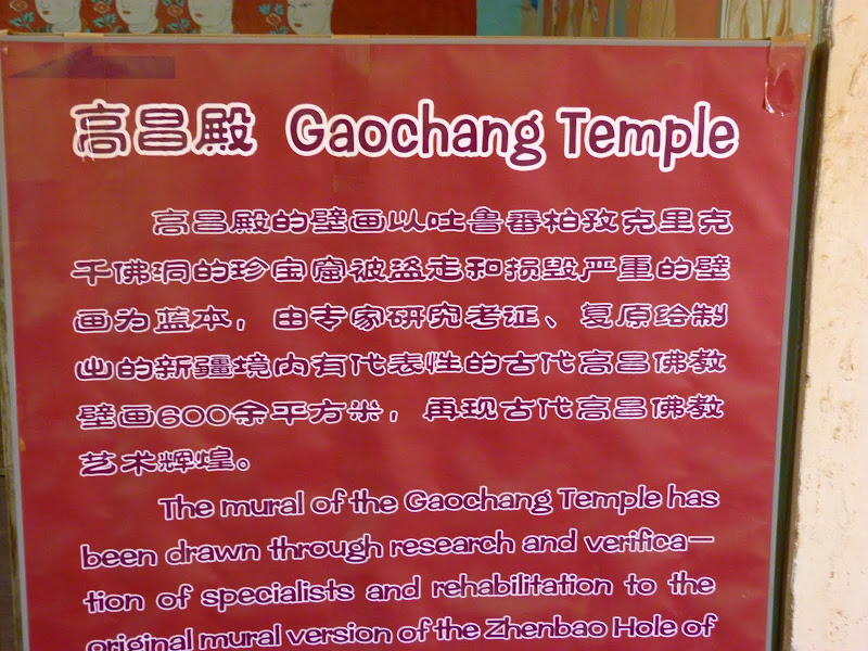 XINJIANG.  Turpan. Ancient city of Jiaohe, Flaming Mountains, Karez, Bezelik Thousand Budda caves - P1270942.JPG