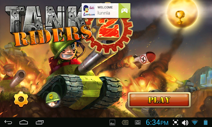 Tank Riders เกมส์ขี่รถถังตะลุยแหลก | โหลดเกมส์แอนดรอยด์ฟรี