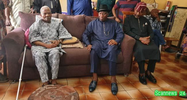Insecurity getting worse under Buhari - Jonathan Cries Out, visits Pa Reuben