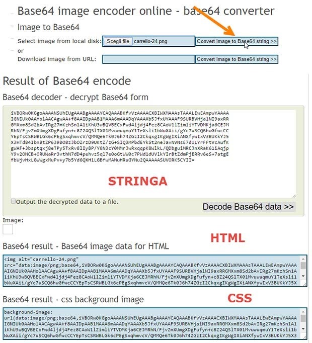 base64-conversione