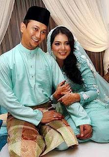 gambar elyana kahwin - nikah