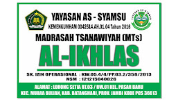 Ayo Buruan, MTs Al-Ikhlas Siap Menerima Peserta Didik Baru Secara Gratis