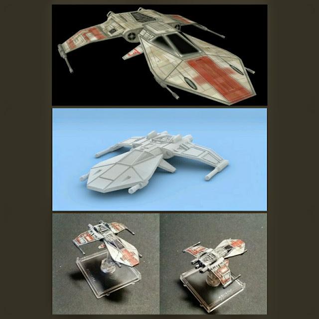 R-41 Starchaser de Mel Miniatures