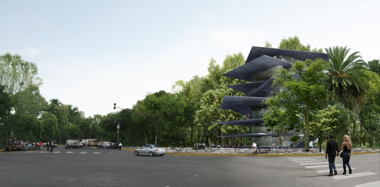 News: ARCHIVO: DESIGN FOR NEW BUILDING in MEXICO CITY by ZELLER & MOYE
