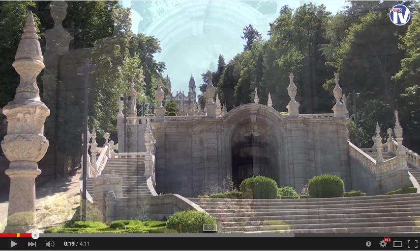Vídeo - Obras de requalificação no Escadório e Santuário dos Remédios
