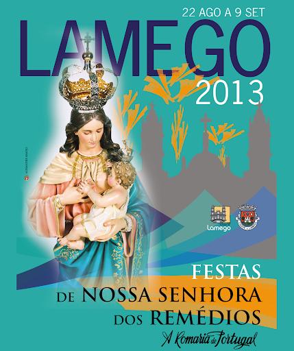 Programa das Festas de Nossa Senhora dos Remédios - 2013 - Lamego