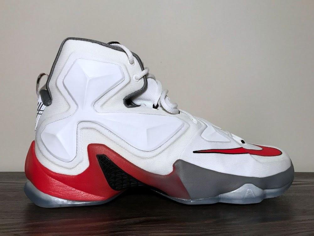 sale retailer ccbfc 3e08a Nike LeBron 13 Ohio State Home PE Has Finally Surfaced ...