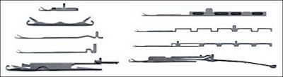 Tipos de agujas para máquinas de tejido de punto