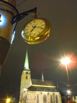 Ceasuri in Pilsen, Piata Republicii, Biserica Sf. Bartolomeu