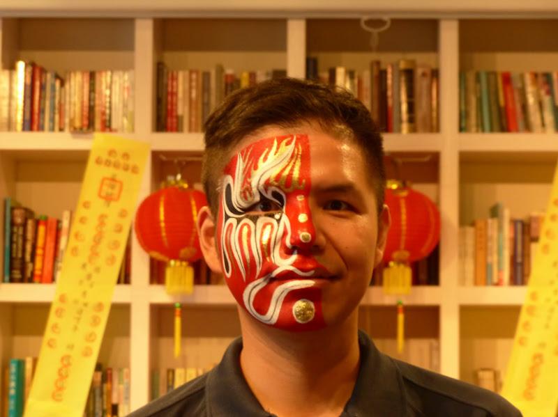 Taipei. Maquillage au Thinker s theater à Di Rua jie 迪化街 - maquillage1%2B062.JPG