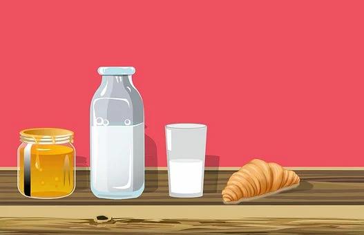 Honey and Milk for Fair skin