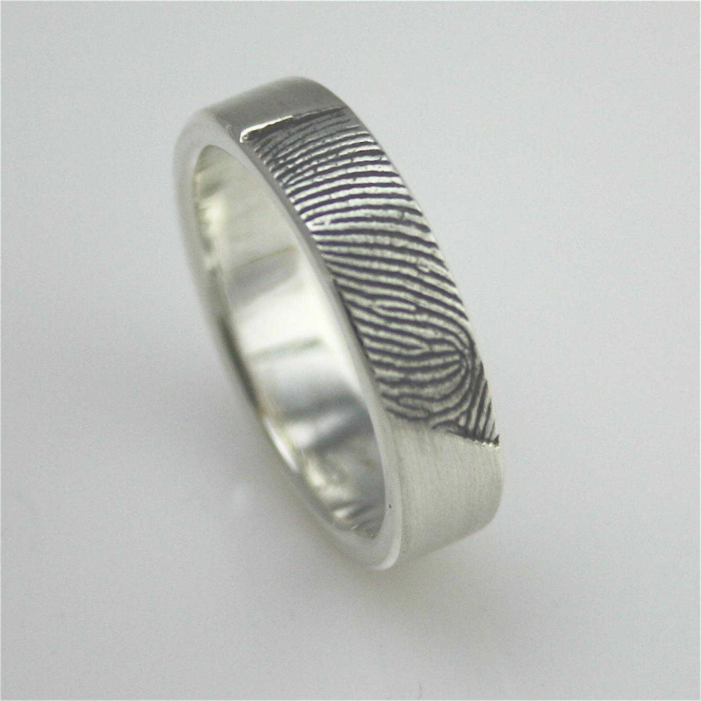 Delisha S Blog Finger Print Wedding Ring