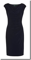 Lauren Ralph Lauren dark navy jersey dress