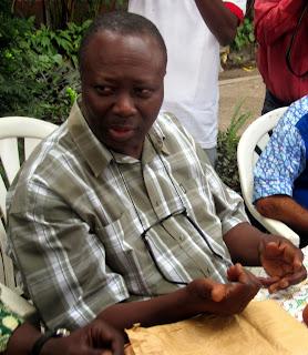 Le président de la Fédération congolaise de cyclisme (Fecocy), Sylvestre Motayo. Radio Okapi. Ph/ Enoch Matondo.