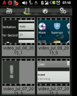 Screencast for android